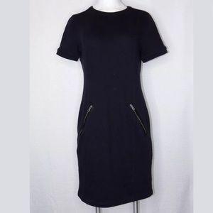 Burberry Brit 8 Navy Sheath Dress